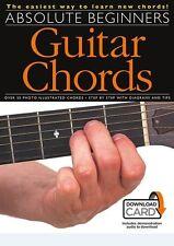 ABSOLUTE principianti accordi di chitarra imparare a suonare facile Music Book/DOWNLOAD CARD
