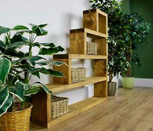 Rustic Brandside Shelving Bookcase unit