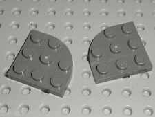 2 x LEGO Star Wars DkStone plate corner round 30357 /set 10179 10178 7676 10188