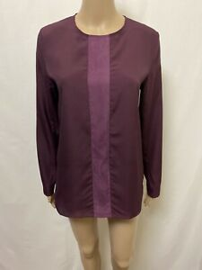 Alpha 60 Blouse Women ~ Size Small ~ Great Cond Long Sleeves Top Casual Business