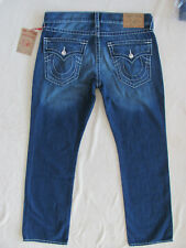 True Religion Big T-Straight Jeans-Flap Pockets -Ultra Indigo-Size 36-NWT $249