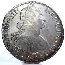 MEXICO-Messico (Carlo IV of Spain) 8 Reales 1803 F.T.