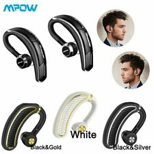 Wireless Bluetooth Headset Earpiece Headphone Stereo Earphone Mic Handfree