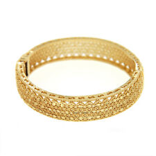 18K-Gold Plated with Brass Bollywood Bangle Women's Bracelets