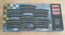 Carrera Digital 132 u. 124 Kurve 3/30 Set 6 Stück Neuwertig