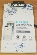Pelican Marine Waterproof Case for iPhone 7+ Plus - Clear