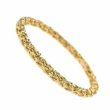 Kenneth Jay Lane Polished Gold bangle bracelet 7146BPG