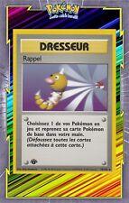 🌈Rappel - Set de Base Edition 1 - 78/102 - Carte Pokemon Neuve Française
