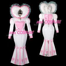 adult baby sissy maid PVC dress Fishtail lockable bind costume Tailor-madeG2339/