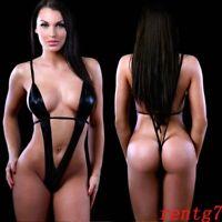 Womens Slingshot Swimwear Bikini Thong Micro Exotic Lingerie G-string Piece One