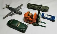 Vintage Diecast  DINKY MATCHBOX Toy Collection Bundle Fork lift, army truck etc.