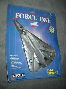 ERTL FORCE ONE F-14 TOMCAT FIGHTER JET 1989 DIE CAST METAL