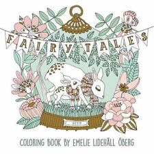 """Fairy Tales Coloring Book: Published in Sweden as """"Sagolikt"""" (Paperback or Softb"""