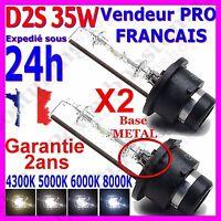 2 AMPOULES D2S XENON 85122 66040 66240 35W LAMPE FEU au HID en 5000K 6000K 8000K