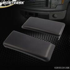 For 2009-2014 FORD F150 Front Bumper Guards Pads Caps Inserts LH + RH Set