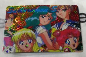 Vintage Rare 90s Vending Machine Sticker Sailor Moon S Anime Holo Trading Card