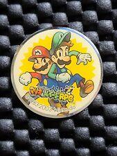 Vintage Nintendo Mario Luigi RPG Superstar Saga pin badge promo rare 03 employee