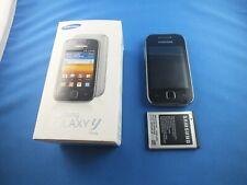 Samsung Galaxy Y GT-S5369 - Metallic Gray Smartphone TOp Zustand OVP Silver Grau