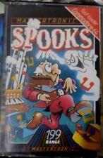 Spooks (Mastertronic, 1986) C64 Kassette (Box, Manual, Tape) 100 % ok