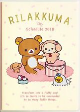 2018 Schedule Book Agenda Planner Rilakkuma B6 Weekly SAN-X Japan