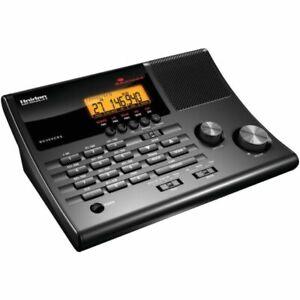 Uniden BC365CRS 500 Channel Scanner Alarm Clock EMS Marine Weather Alert Radio