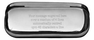Personalised Glasses Spectacle Case Writing Engraved Gift