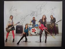"""Ksm music band 22"""" x 28"""" hand signed poster"""