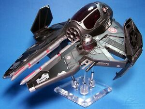 STAR WARS EXPANDED UNIVERSE SUPER ULTRA RARE DARTH VADER'S SITH STARFIGHTER.C-10
