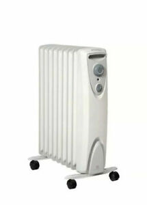 Dimplex OFRC20N Electric Radiator Oil Free 2000W Portable Heater - White