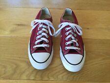 Converse Size 5 Dark Red