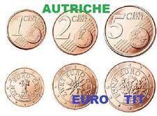 AUTRICHE   PIECES  DE   1  2   5  CENTIMES   /      2005     disponible