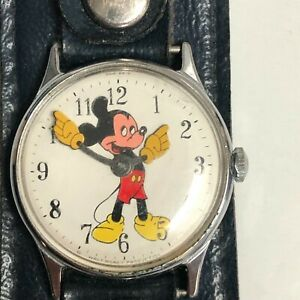 Vintage Mickey Mouse Watch Walt Disney Productions
