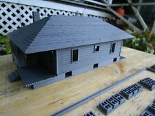 "(1) "" S ""  SCALE  TWO STORY BUNGALOW HOUSE  or  COTTAGE     3D  PRINTED  L@@K"