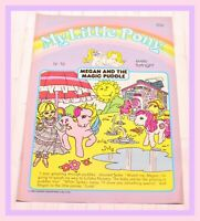 ❤️My Little Pony G1 Merch 1986 VTG Magazine Comic #16 Megan and Magic Puddle❤️