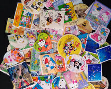 50 Pcs/lot All Different Cartoon Comic Postage Stamps For Collection toys kids