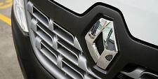 Renault master 2015-gloss black front grille badge capot