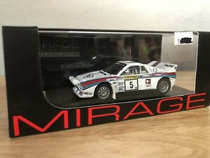 LIMITED EDITION! HPI #8298 Lancia 037 Martini 1983 1000 Lakes Rally 1/43 model