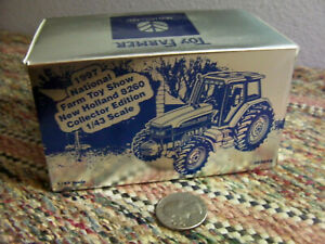 1/43 scale collector edition New Holland Gemini 8260 Nat. Farm Toy Show 1997