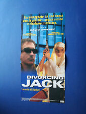 LOCANDINA LA NOTTE DI STARKEY DIVORCING JACK DAVID TREWLING RACHEL GRIFFITHS B1