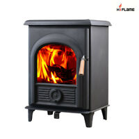 HiFlame EPA Approved Shetland HF905U 30,500 BTU Indoor Wood Stove-NEW