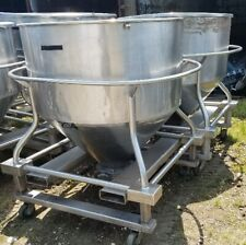 30 Cuft Stainless Steel Tote Tank 225 Gallon Tank On Wheels