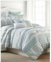 New 8 Piece King Size Comforter Set Bedspread Bed in a Bag Sheets NWT - Greens