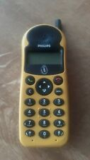 Broken - for parts - Philips mobile phone yellow