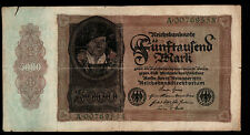 1922 Imperial Germany Weimar Empire 5,000 Reichsbanknote P# 78 German Currency