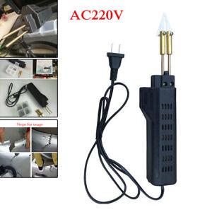 220V Hot Plastic Stapler Bumper Fairing Weld Gun Kit Stapler Repair Universal