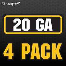 32 ACP Ammo Decal Sticker bullet ARMY Gun safety Can Box Hunting 2 pack RD