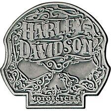 Harley Davidson Ornate Willie G Skull 3D Die Cast Pin