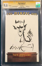 DAVE MCKEAN ORIGINAL Sketch Art CGC 9.6 Signed SANDMAN NEIL GAIMAN not CBCS