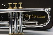 Bach Stradivarius 43 ML Reversed Pipe LR PRO Gold Trim Trumpet Professional WoW