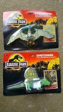 Original 1993 Jurassic Park Dinosaurios Y Dimetrodon Par